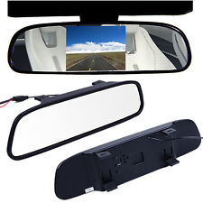 """Latest 4.3"""" TFT LCD Color Car Reverse Rear View Mirror Monitor for Backup Camera"""