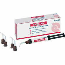 Total Cem by Itena 4gm Self Etch, Self Adhesive Dual Cure Resin Cement dental///
