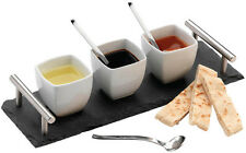 Grunwerg commichef pizarra de tapas & Dipping Set 7pc-slt-set7