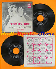 LP 45 7'' TOMMY ROE Stir it up and serve it Firefly 1970 italy EMI cd mc dvd