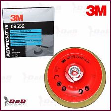 3M 09552 Perfect-it III Placa de soporte Adhesivo 125 mm M14