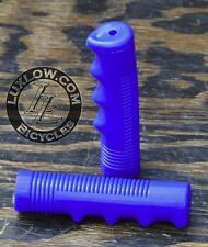Blue Bike GRIPS Vintage Cruiser Stingray Muscle Bicycle Lowrider Schwinn Beach
