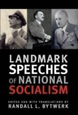 Landmark Speeches a Book: Landmark Speeches of National Socialism (2008,...
