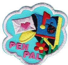 Girl Boy Cub PEN PALS LETTERS Pal Fun Patches Crests Badges SCOUTS GUIDE writing