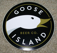 GOOSE ISLAND Chicago LOGO STICKER decal craft beer brewery bourbon county