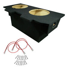 "Chevy Camaro 93-02 Coupe Dual 12"" Sub Box Speaker Subwoofer Stereo Mdf Enclosure"