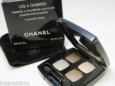 Chanel - Les 4 Ombres Quadra - Eye Shadow - # 14 Mystic Eyes - Boxed~Unopend