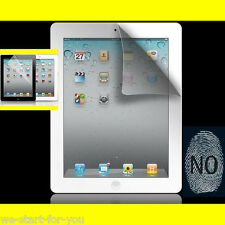 ★WOW 2x Schutzfolie Matt für iPad 4 & 3 & 2 Display Folie Anti Glare Entspiegelt