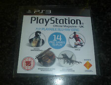 PS3 officiel magazine demo disc question 64 blu ray region 2 pal