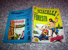 ZAGOR ZENITH N.85 ORIGINALE DEL 1968 MB/Q.OTTIMO TIPO TEX MARK ARALDO RANGER