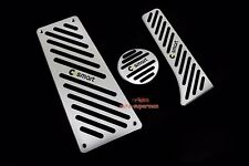 No drill Fuel Brake Foot Rest pedal Cover Pad For benz Smart Fortwo 451 07-2014