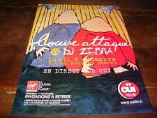 LOUISE ATTAQUE - PUBLICITE DJ ZEBRA !!!!!!!!!!!!!!!
