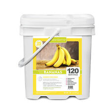 Lindon Farms 120 Servings Freeze-Dried Bananas Emergency Camping Hiking NEW
