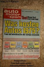AMS Auto Motor Sport 1/75 Morgan Plus 8 Saab 99 Honda turbo