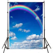Rainbows Paisaje vinilo Fondo fotográfico fondo estudio utilería 5X7FTZR60