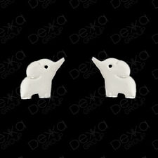 925 Sterling Silver Baby Elephant Lucky Stud Earrings Girls Children Women Studs