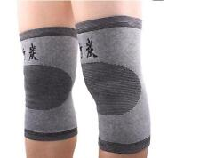 New HOT Pair Bamboo Fiber l Compression Pain Arthritis Knee Brace Support