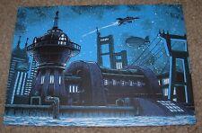 TIM DOYLE Art 5X7 Postcard FUTURAMA Good News like poster print unreal estate
