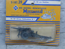 Roco / Herpa Minitanks  (NEW) WWII US 155mm M1 Field Howitzer Lot 853