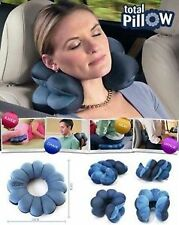 FLEXIBLE TOTAL PILLOW ULTIMATE ERGONOMIC NECK PILLOW FOR TRAVEL HOME CAR OFFICE