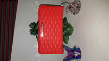 New Rebecca Minkoff..Quilted Leather Sophie  Snap Wallet  Purse  Watermelon