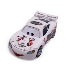Disney Pixar NO.95 Lightning Mcqueen London 2012 Olympic Game Metal 1:55 Car Toy