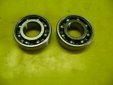 2 STIHL TS460 TS480 TS500 CUT OFF SAW CRANKSHAFT CRANK BEARINGS 203-OPEN