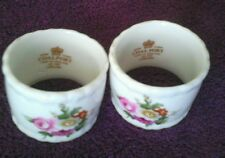 PAIR OF COALPORT LUDLOW UNBOXED NAPKIN RINGS, EXCELLENT CONDITION FREE UK POST