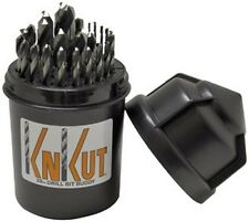 KnKut 29KK5DB 29 Piece Fractional Jobber Length Drill Bit Buddy Set