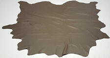 Leather cowhide Edelman dark champagne 65 sqft auto upholstery cow hides ts-8012