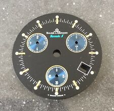 Baume & Mercier Formula S Chronograph Zifferblatt Schwarz Ø 29,5mm Seltenheit