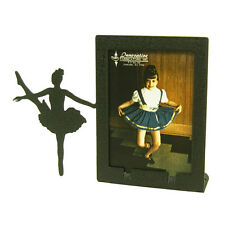 Ballet 2x3 Black Metal Picture Frame