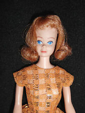 Vintage Straight Leg 1960's Midge Doll By Mattel  Marked Japan On Foot