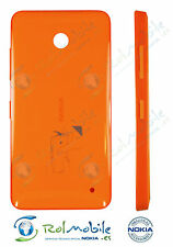 Battery Cover Original Nokia CC-3079 Lumia 630 / 635 Bright Orange New - Bulk