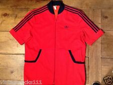 """Vintage Adidas Top red chest 44"""" unisex"""