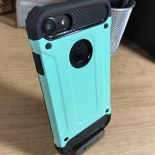 Original Apple iPhone 7 caso híbrido Tech Reino Unido Sci-Fi Resistente Stealth Alien Verde