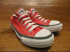 Converse CT All star Low  Red  Canvas Trainer Sneaker Size UK 5 EUR 37.5