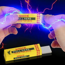 New Safety Trick Joke Toy Electric Shock Shocking Chewing Gum Funny Toy Gifts