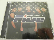 Five - Invincible - CD Album 1999 - Used very good
