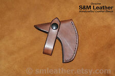 Plumb Boy Scout Hatchet Mask Cover Sheath Brown Leather Hand Crafted BSA