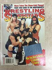 Wrestling Superstars December 1998 Wrestling Magazine D-X Degeneration X