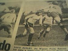 ephemera 1977 picture football david audley wigston fields holwell works pollard
