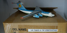 PCM Model Iluyshin IL-76D Uzbekistan Airways UK-78805 in 1:200 scale