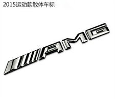 New AMG Glass Rear Metal emblem badge logo for Mercedes-Benz C CL CLS E S SLK SL