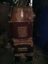 Ancien poêle à bois