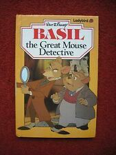 LADYBIRD IST ED Basil, the Great Mouse Detective by Walt Disney (Hardback, 1987)