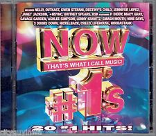 NOW That's What I Call Music #1's 20 Hits Various Artists CD As Seen on TV NSYNC