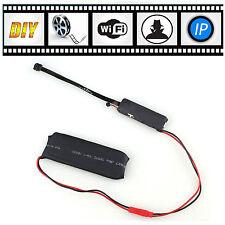 Mini Wireless Remote Wifi IP DIY Module Home Security Spy Hidden Camera Cam DVR
