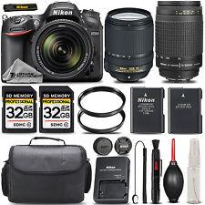 Nikon D7100 DSLR Camera + NIKKOR 18-140mm VR LENS + 70-300mm Lens -SAVE BIG KIT