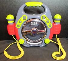 Kids Station Sing a Long CD Player 2001 with 2 Workable Microphones